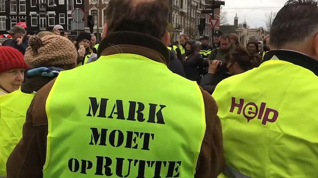 Sarı Yelekliler eylemi Belçika ve Hollanda'ya sıçradı