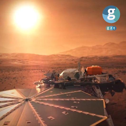 InSight 'dolu dolu' dönüyor: 'Mars'tan ses var'