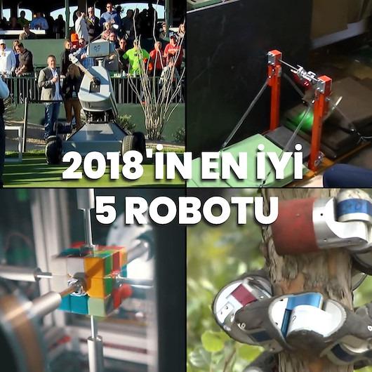 GZT.com'un seçtiği 2018 yılının en iyi 5 robotu