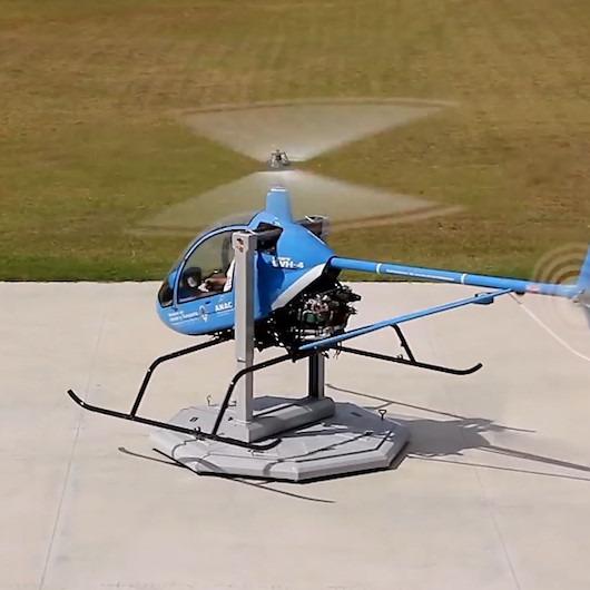 Helikopter pilotlarını eğiten muhteşem sistem: Cicare SVH-4