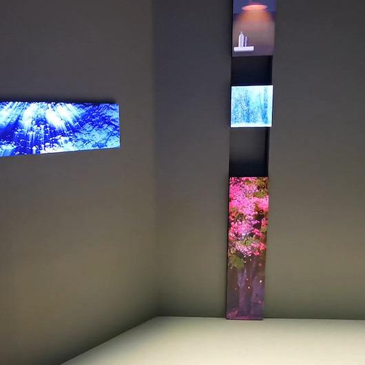 Samsung, CES 2019'da Micro LED televizyon ekranını tanıttı