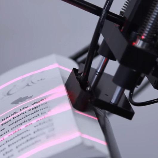 Dakikada 250 sayfa tarayabilen yüksek hızlı scanner