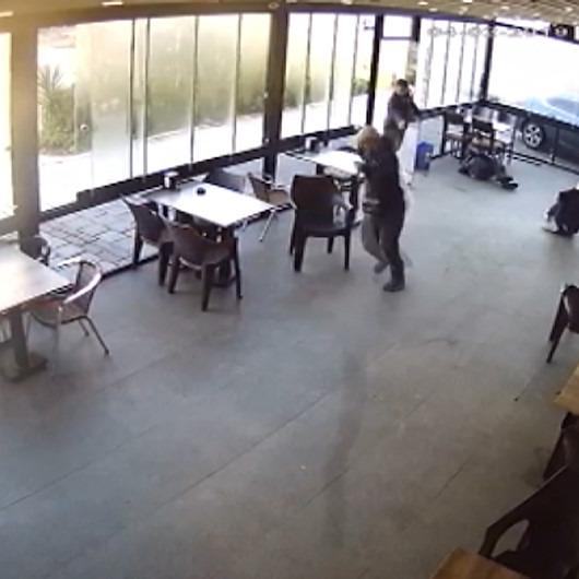 Kafeden atılmayı hazmedemeyince kurşun yağdırdı