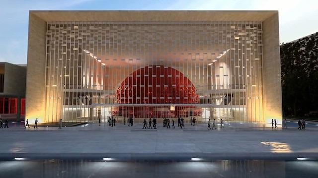 AKM'nin yeni projesi, mimarı Hayati Tabanlıoğlu'nun oğluna emanet