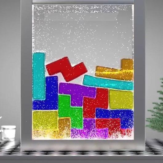 3D animasyoncudan farklı bir 'tetris' deneyimi
