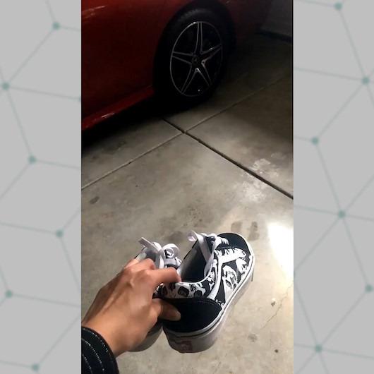 Vans ayakkabıların her koşulda düz durduğunu kanıtlayan etkileyici deney