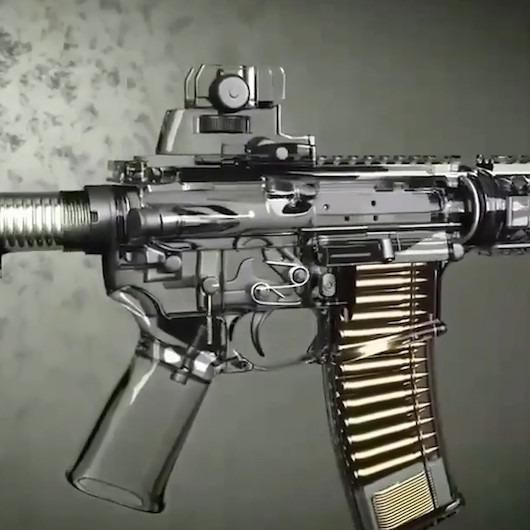 Uzun namlulu silahların çalışma mekanizması