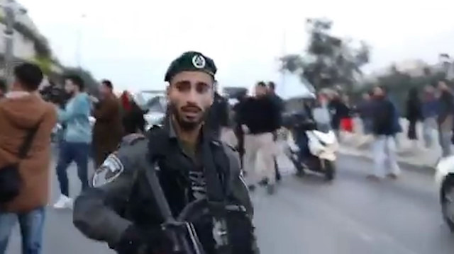 İsrail polisinden Filistinli basın mensubuna orantısız güç