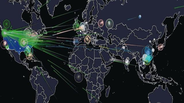 Dünya genelinde gerçekleşen 'siber saldırıları' canlı izleyebilirsiniz