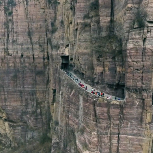 Zirveye giden en uzun yol: Guoliang Tüneli
