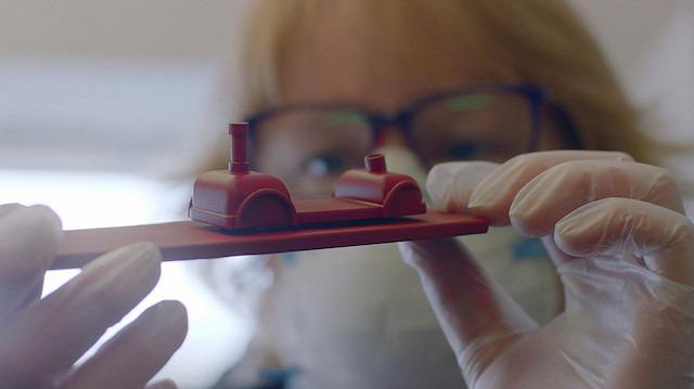 Yorkshire'ın köyünden çıkan minyatür sanatçısı teyze