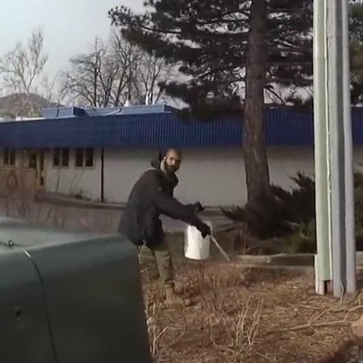 ABD polisi çöp toplayan öğrenciye suçlu muamelesi yaptı