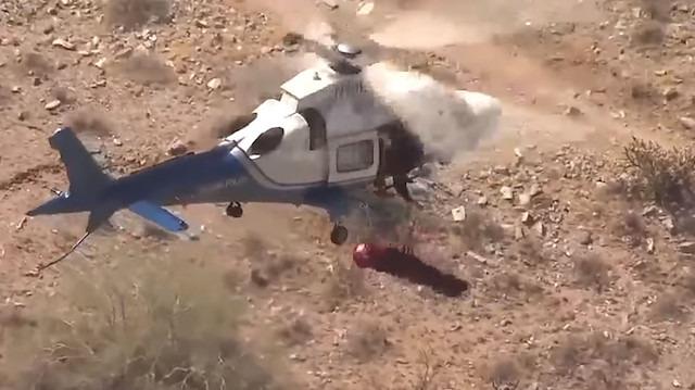 Helikopterli kurtarma sırasında yapılan büyük hata
