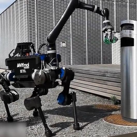 Hem çevreci hem zeki robot ANYmal her yerde