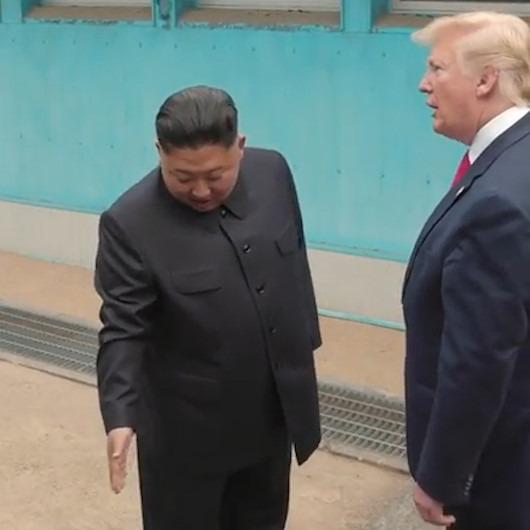 Kuzey Kore'ye ayak basan ilk ABD Başkanı