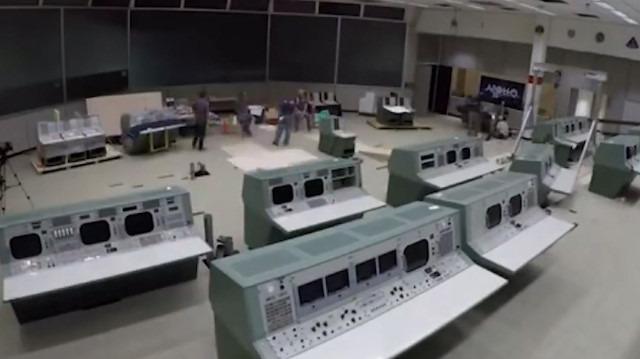 NASA'nın 'Görev Kontrol Odası' 1969 senesine döndürüldü