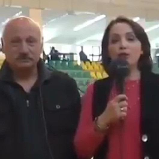 'Altınoluk Belediye Spor Kulübü' diyemeyen muhabirin gülümseten anları