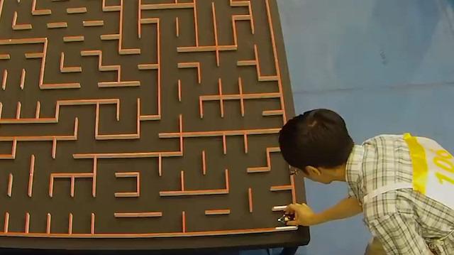 Micromouse yarışmasında dünya rekoru: 3 saniye 594 salise