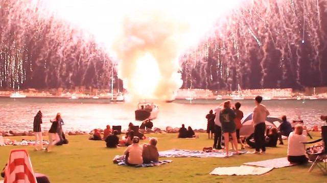 4 Temmuz Bağımsızlık Günü eğlencesini abartan San Diegolular
