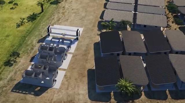 Dünyanın ilk 3 boyutlu 'mahalle' tasarımı