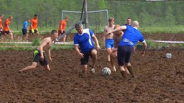 Bataklık futbolunun Rus şampiyonu belli oldu