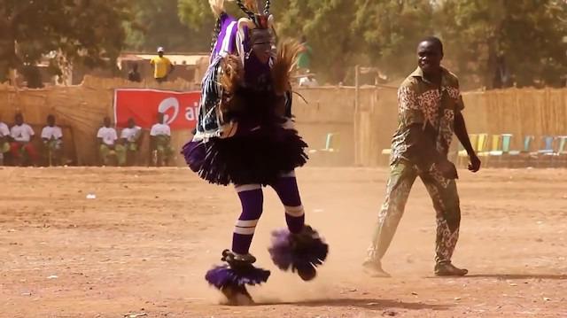 Batı Afrika'nın enteresan dansı: Zaouli