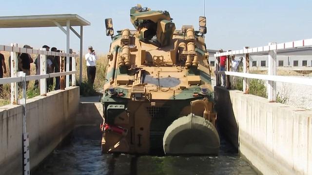 TSK'nın yeni zırhlı aracı 'Vuran' test edildi