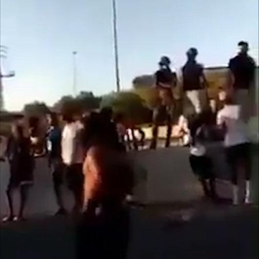 Etiyopyalı Yahudiler, Filistin sloganları atarak siyonist işgal polislerini çıldırtıyor