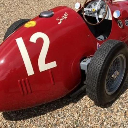 Fuardaki paha biçilemeyen otomobil: 1951 model Ferrari