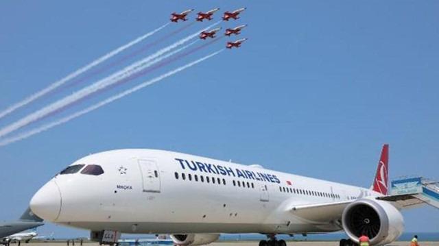 THY'nin 'Maçka' uçağı şehit Eren Bülbül anısına uçtu