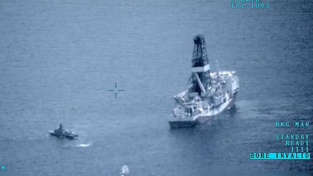 Sondaj gemilerimizi koruyan muhteşem 'eskortlar'