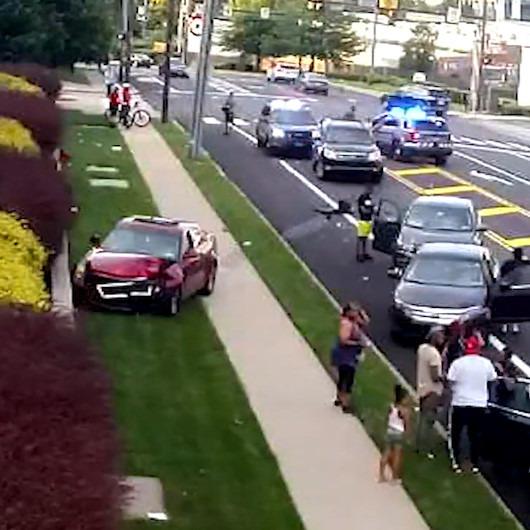Zincirleme kazaya neden olan sürücü olay yerinden gizlice kaçtı