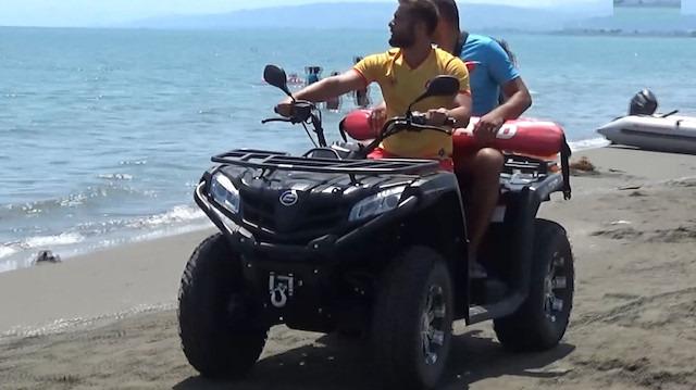 Boğulmalara karşı ATV'li önlem