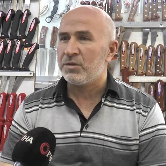 45 yıllık bıçakçıdan kurban kesecek vatandaşlara uyarılar