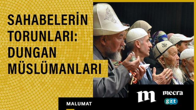 Sahabelerin torunları: Dungan Müslümanları