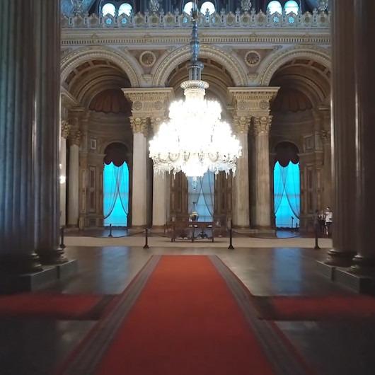 Osmanlı İmparatorluğu'nun görenleri hayran bırakan bayramlaşma salonu