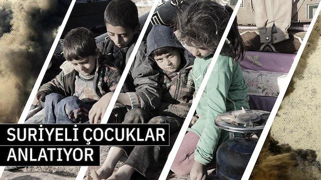 Suriyeli çocuklar anlattı