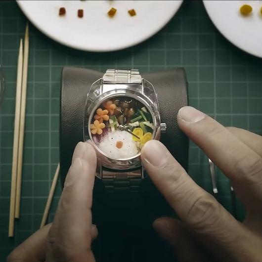 Japonya'da öğle yemeğine fırsat bulamayanlara kol saatli servis
