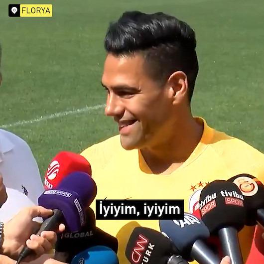 Radamel Falcao'dan Türkçe cevaplar