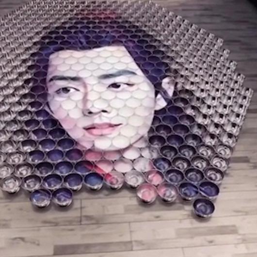 Çinli sanatçıdan bakış açısına göre değişen resimler
