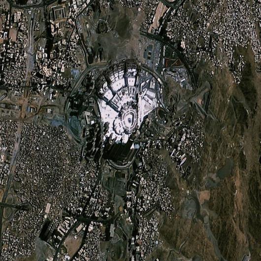 GÖKTÜRK-2 uydusu Mekke ve Medine'yi görüntüledi
