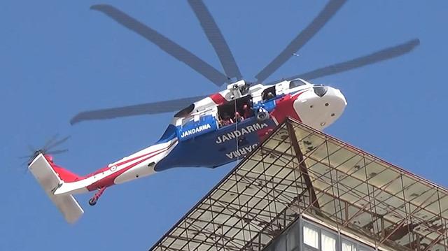 Gerçeği aratmayan helikopterli yaralı kurtarma tatbikatı