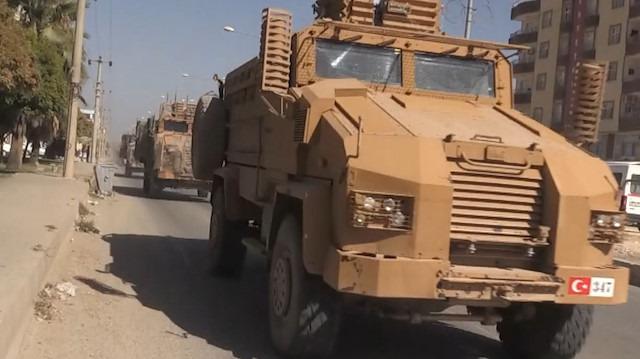 Tam donanımlı Suriye Milli Ordusu mensupları Akçakale'de