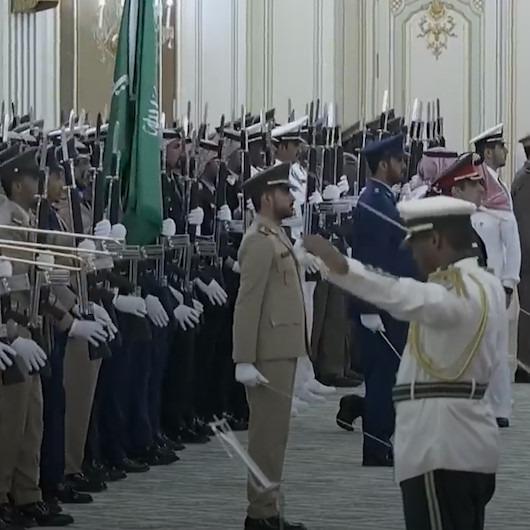 Suudi orkestrası Rus marşını yanlış çaldı