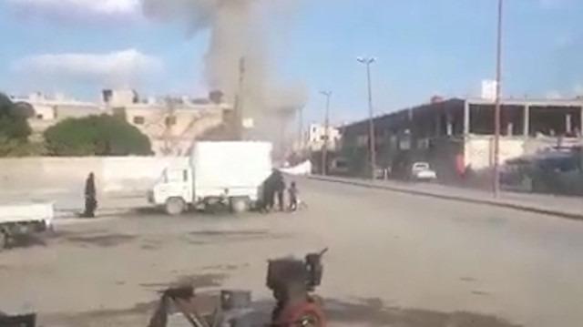 Tel Abyad'da pazar yerine bombalı terör saldırısı düzenlendi