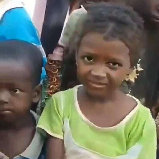 Afrikalı kızın yürek burkan görüntüleri