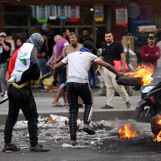 Irak'ta şiddetli protestolar