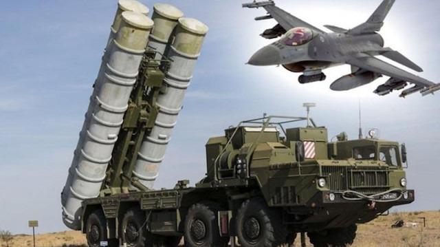 S-400 hava savunma sistemleri test ediliyor