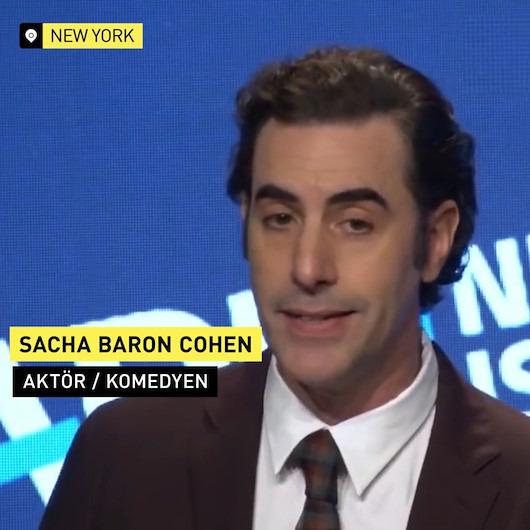 Borat'tan Zuckerberg yorumu: 'Hitler'den bile reklam alırdı'