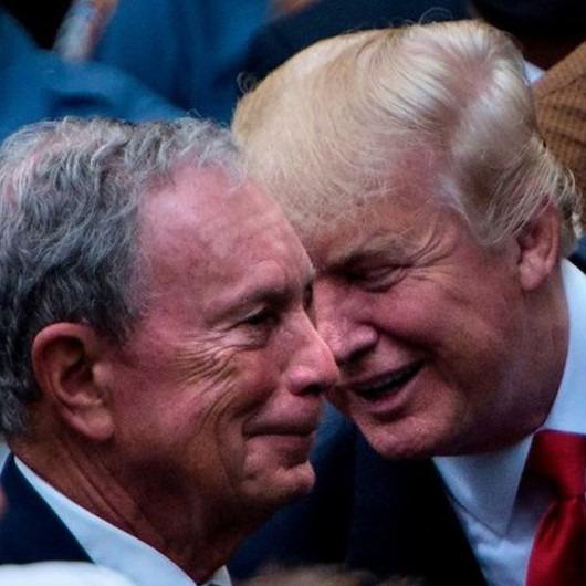 Trump'a 'zengin' rakip: 'Bloomberg başkanlığa aday oldu'